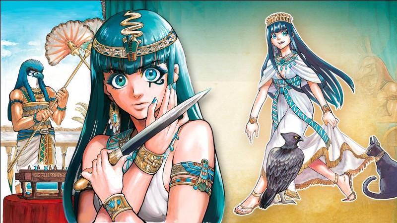 Qui devient reine d'Égypte ?