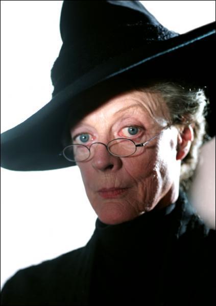 Comment se prénomme la directrice de la maison Gryffondor, lorsqu'Harry y étudie ?