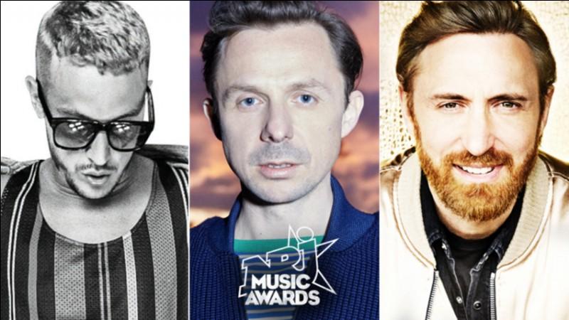 Pour une fois, David Guetta n'est pas le DJ de l'année. Dans ce cas, quel DJ a gagné ce prix ?