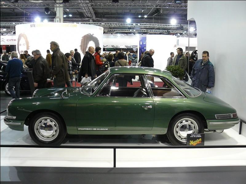 Cette Porsche de 1959 est une...