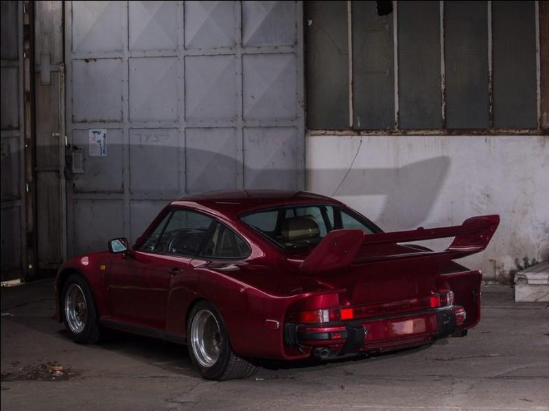 Cette Porsche de 1983 est une...