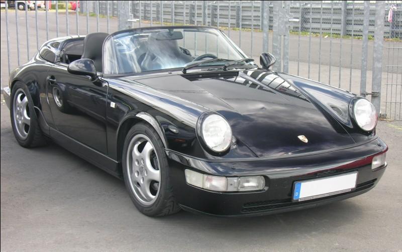 Cette Porsche de 1993 est une...