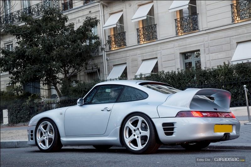 Cette Porsche de 1997 est une...