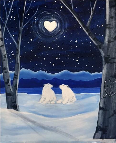 Sous sa fourrure blanche, quelle est la couleur de la peau d'un ours polaire ?