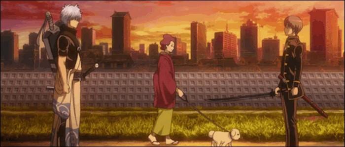En quoi se termine finalement le duel entre Kusanagi et Maganagi ?