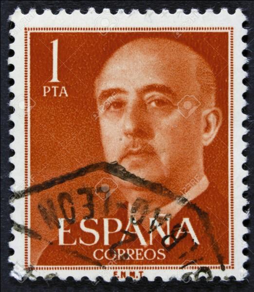 Quelles sont les dates de Franco à la tête de l'Espagne ?