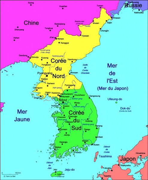 Quelles sont les dates de la guerre de Corée ?