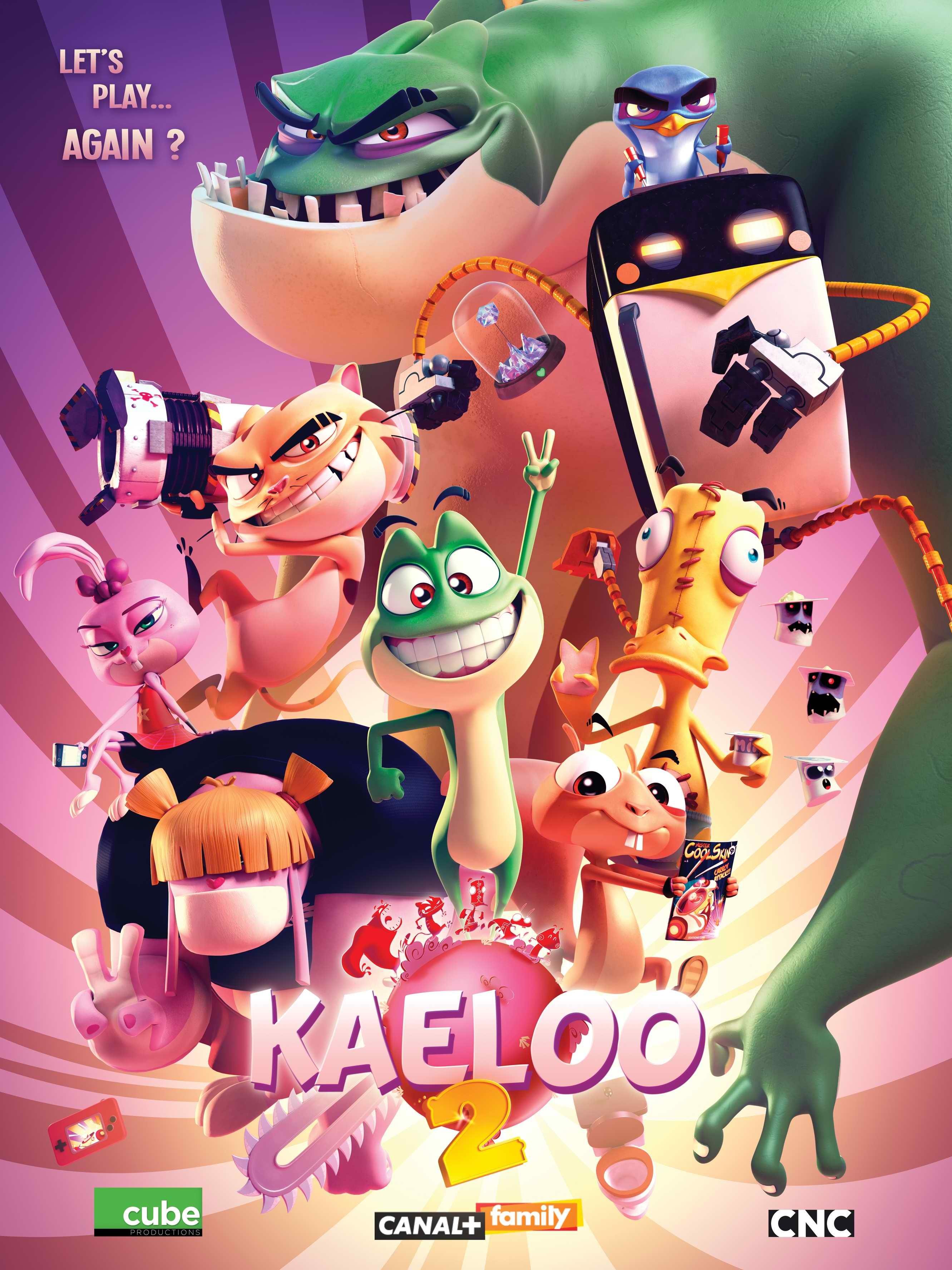 Quel personnage de 'Kaeloo' es-tu ?
