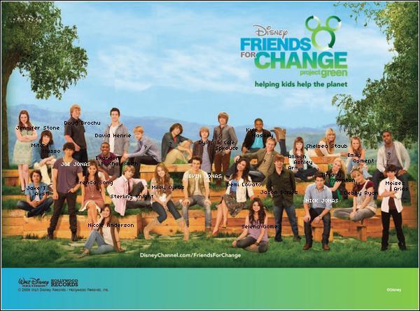 Avec qui Demi a-t-elle chanté le titre pour le Projet Vert de Disney Channel ?