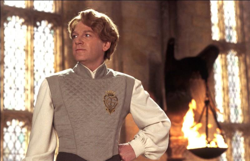 À quelle maison appartient Gilderoy Lockhart ?