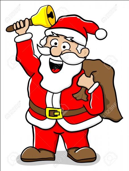 Quelle était la première couleur du manteau de père Noël ?