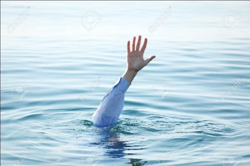 Se noyer dans un(e) ____ d'eau.