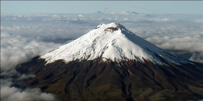 V comme volcan. Quel est le volcan considéré comme le plus haut volcan actif du monde ?