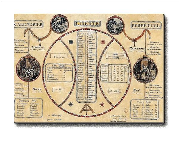 V comme Vendémiaire. A quelles dates dans le calendrier grégorien Vendémiaire correspond-il?