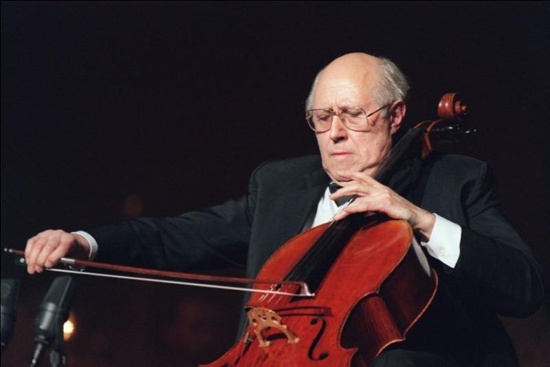 V comme violoniste. Lequel / laquelle de ces musicien(ne)s n'est pas un(e) violoniste ?