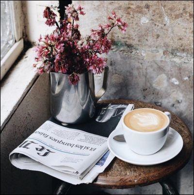 """Selon les paroles de Laurent Voulzy dans sa chanson """"Belle île en mer"""" : comment était le café... au lait mélangé"""" ?"""