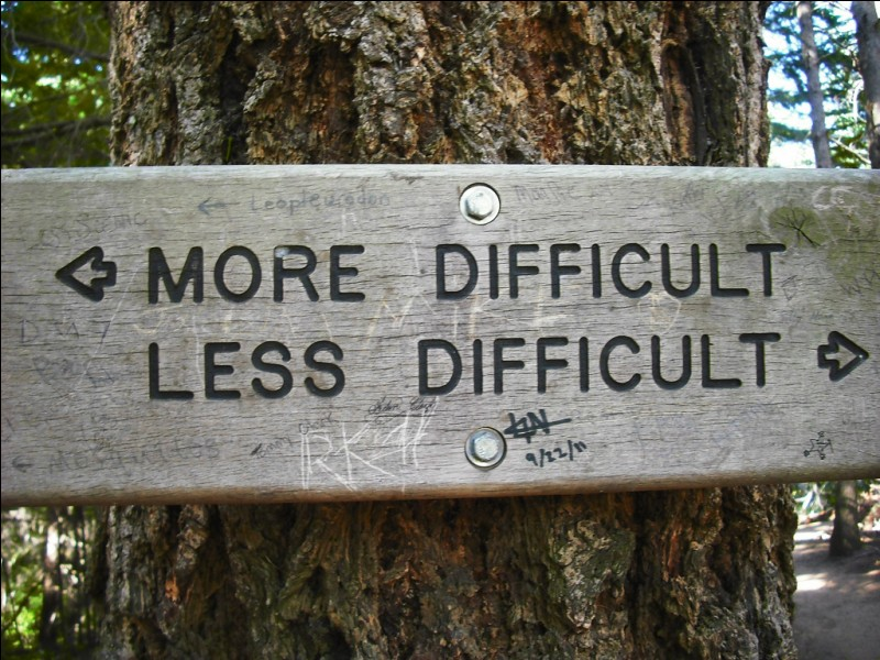 Quand vous avez des difficultés...