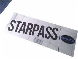 """Combien de """"Starpass"""" y a-t-il au total ?"""
