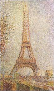 """""""La Tour Eiffel"""" est un tableau de ..."""