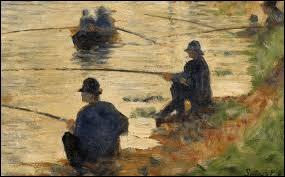 """""""Les Pêcheurs à la ligne"""" est un tableau de ..."""