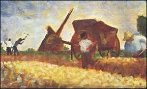 """Qui a peint ce tableau nommé """"Les Terrassiers"""" ?"""