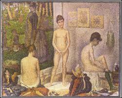"""Quel peintre a réalisé ce tableau intitulé """"Les Poseuses"""" ?"""