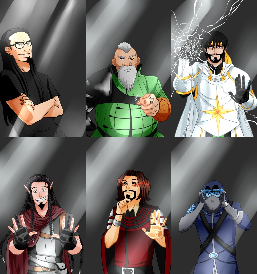 Les personnages d''Aventure' n°3