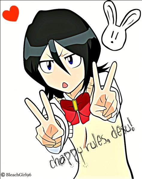 Que fait Rukia et qu'Ichigo trouve affreux ?