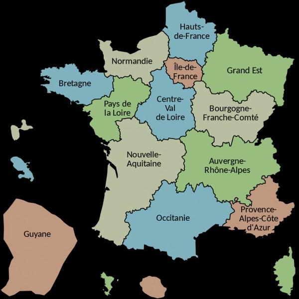 Quelle mer ou quel océan ne touche pas la France ?