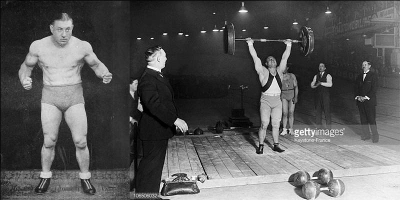 Ce champion olympique a été « l'homme le plus fort du monde ». Pendant la 2e Guerre mondiale, il a permis l'évasion de plusieurs prisonniers de guerre en tordant les barreaux d'une chambrée. Blessé lors d'une compétition, il finira sa carrière comme catcheur, entre autres.Qui est-il ?