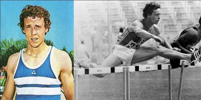 Ce sportif est né à Oignies, comme un autre athlète français, Michel Jazy. Il commencera à se faire connaître par le saut à la perche (meilleure perf. Française à 4,71 m) avant de récolter l'or aux JO de Montréal dans une autre spécialité.Qui est ce sportif ?