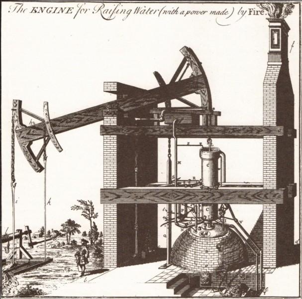 En quelle année Thomas Newcomen a-t-il mis au point la machine à vapeur à balancier ?