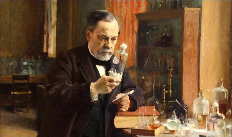En 1885, de quelle maladie Louis Pasteur a-t-il élaboré le vaccin ?