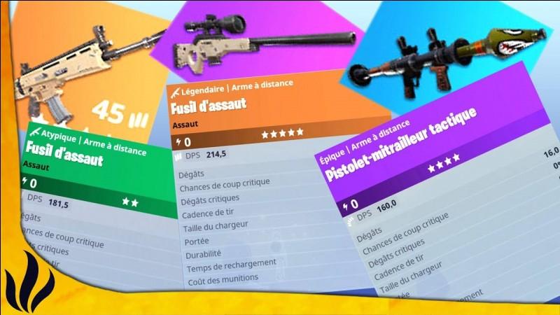 Quelle est la meilleure arme ?