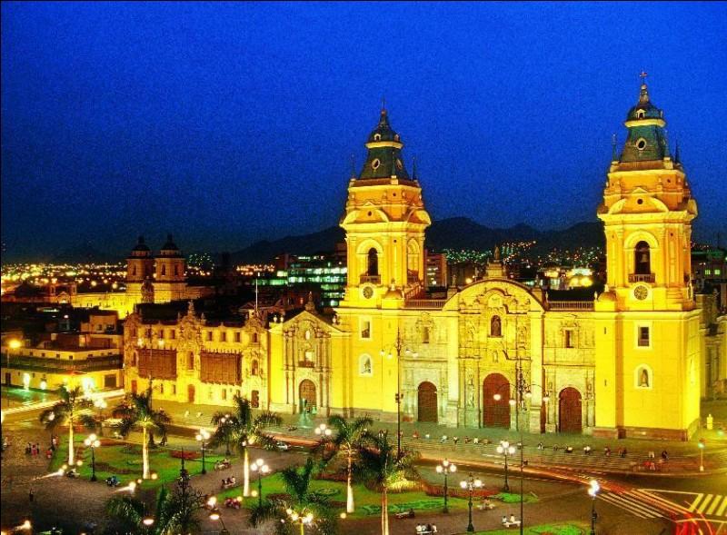 """L - """"Lima"""" est la capitale du Chili."""