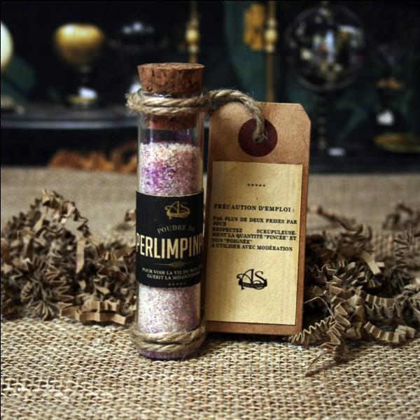 """P - La """"poudre de perlimpinpin"""" guérit tous les maux. C'est un remède miraculeux."""