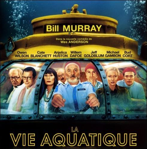 « La vie aquatique », film de Wes Anderson sorti en 2004, est dédié à un océanographe français très connu. Comment s'appelle-t-il ?
