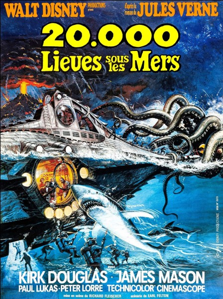 « 20000 lieues sous les mers » est un film américain réalisé par Richard Fleischer en 1954. Quel acteur incarnait le capitaine Nemo dans le film ?