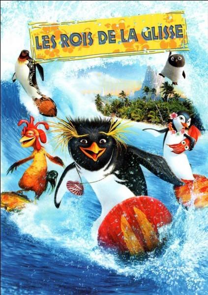 Comment s'appelle ce jeune manchot qui veut devenir un champion de surf dans le long métrage d'animation intitulé « Les rois de la glisse » ?