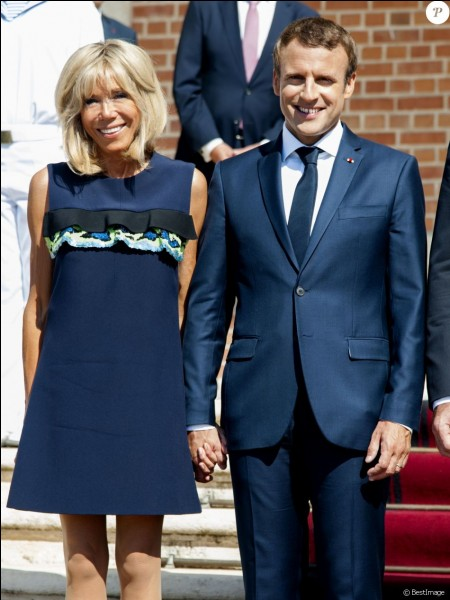 Qui est la femme d'Emmanuel Macron ?