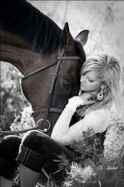 """A qui appartient le cheval """"Tonnerre"""" ?"""