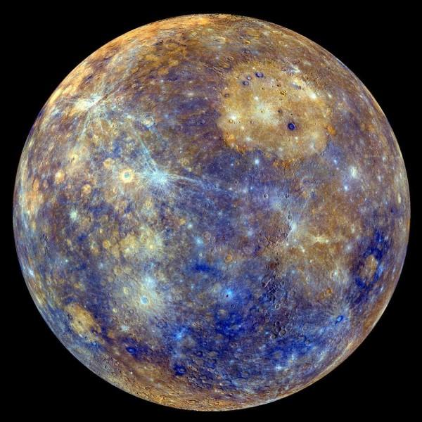 Mercure est plus petite que Pluton.
