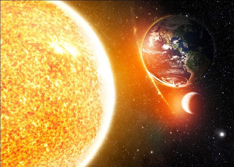 À quelle distance de l'étoile du système solaire se trouve-telle ?