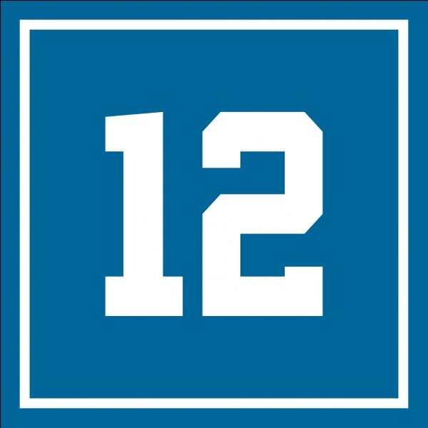Qui est le numéro 12 au RMA ?