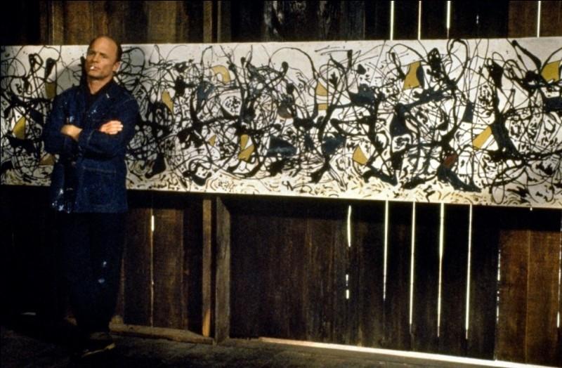 """Dans ce film sorti en 2000, l'acteur Ed Harris interprète un grand peintre américain, créateur de la technique du """"dropping"""". Qui est ce peintre ?"""