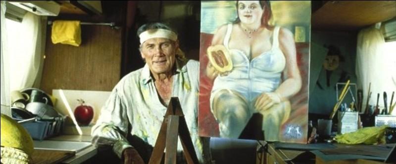 Ce peintre, Rudi Cox, interprété par le vétéran Jack Palance, vit dans le désert entre Las Vegas et Los Angeles. Son modèle est Jasmine, une allemande en vacances, qui s'arrête malgré elle dans ce coin perdu... Quel est ce joli film ?