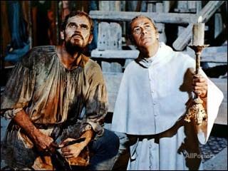 Dans le film L'extase et l'agonie, deux grandes pointures du cinéma (Charlton Heston et Rex Harrison, visibles sur l'illustration) se confrontent comme se sont confrontés à l'époque les personnages réels qu'ils jouent. Qui sont-ils ?