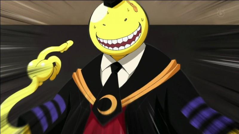 Qui est ce personnage tout jaune ?