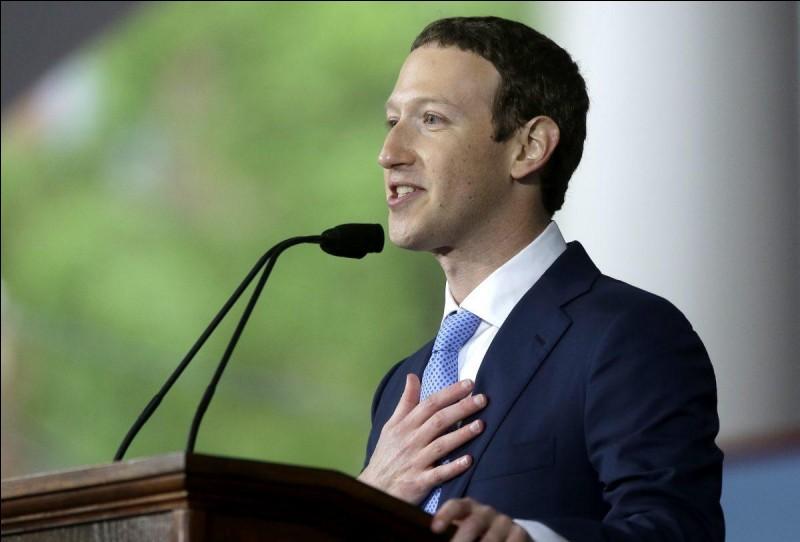 En quelle année Facebook a-t-il été créé par Mark Zuckerberg ?