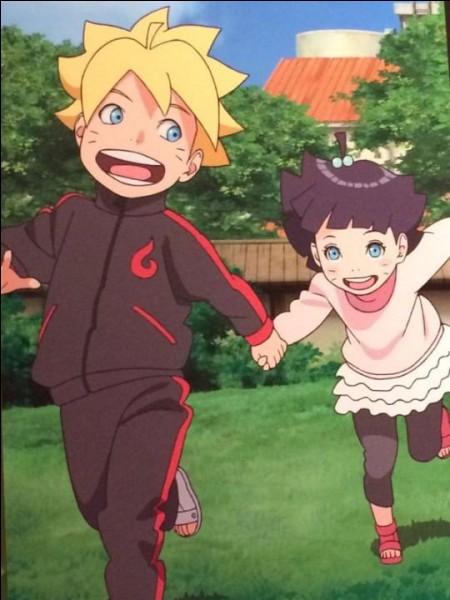 Ces deux enfants ont pour parents deux des meilleurs ninjas du village. Le jeune garçon ressemble beaucoup à son papa, aussi bien mentalement que physiquement, tandis que la jeune fille ressemble à sa maman. Qui sont leurs parents ?